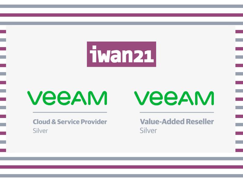 Iwan 21, un partner con categoría de plata para Veeam Backup