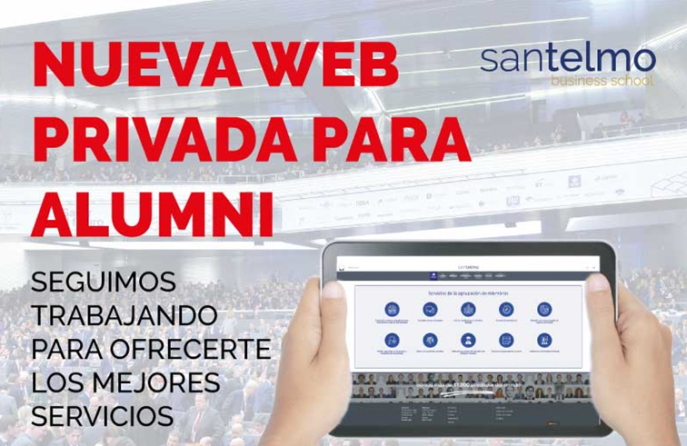 Desarrollo de la nueva web privada para San Telmo Business School